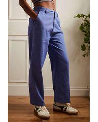 Santa Cruz Blue Nolan Chino Trousers