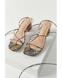 Urban Outfitters Uo Sienna Strappy Sandal - Multicolour