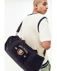 BDG Black Corduroy Crest Duffle Bag