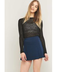 Urban Outfitters | Urban Outfitters Pleated Blue Sports Skirt | Lyst