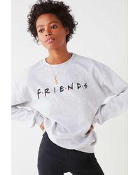 Urban Outfitters - Friends Logo Crew-neck Sweatshirt - Lyst