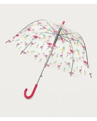 Urban Outfitters - Pineapple + Flamingo Dome Umbrella - Lyst