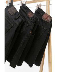Urban Renewal Remade From Vintage - Levi's-Jeansshorts in Schwarz für ihn