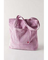 BDG Corduroy Tote Bag - Purple