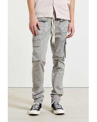 Standard Cloth Jayden Garment Dyed Cargo Jogger - Gray