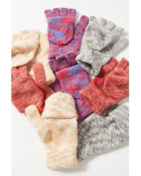 Urban Outfitters Space-dye Convertible Glove - Multicolour