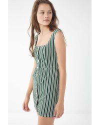 5c5f03e7760b Urban Outfitters Uo Cordelia Corduroy Midi Dress in Brown - Lyst