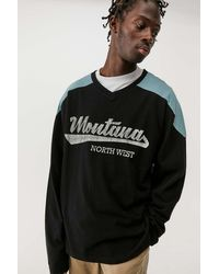 BDG Long Sleeve Montana T-shirt - Black