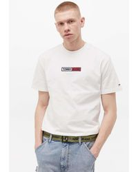 Tommy Hilfiger Gürtel in Olivgrün mit D-Ring und Logoschriftzug