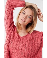 438f5361d3 Urban Outfitters - Uo Tassa Textured Pullover Sweater - Lyst