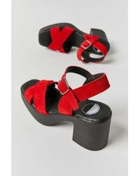 INTENTIONALLY ______ This Is Our Other Line Carlita Sandal - Red