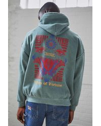 Urban Outfitters Uo Fortune Green Hoodie