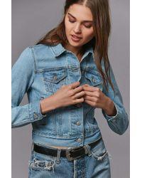 Urban Outfitters - Bdg Shrunken Denim Trucker Jacket - Lyst