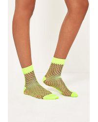 Urban Outfitters - Wide Fishnet Socks - Lyst