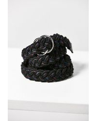 Urban Outfitters - Braided Rope Belt - Lyst