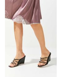 Urban Outfitters Uo Vivian Beaded Wedge - Multicolor