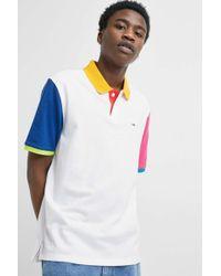 2c722d686 Tommy Hilfiger Long Sleeve Colourblock T-shirt in Blue for Men - Lyst