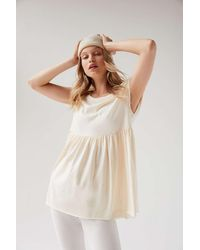 Out From Under Petra Oversized Babydoll Top - Multicolor