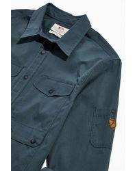Fjallraven Ovik Shade Pocket Shirt - Blue
