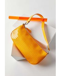 Urban Outfitters - Uo Croc Baguette Bag - Lyst