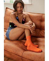 iets frans... Orange Socks