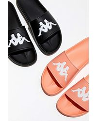 Kappa Authentic Adam 2 Slide Sandal - Black