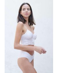 Out From Under Girl Crush Ruched Cami - White
