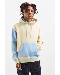 Urban Outfitters - Uo Colorblocked Hoodie Sweatshirt - Lyst