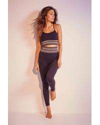 Out From Under Becky Seamless Leggings - Womens S - Black