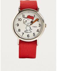 Timex - X Peanuts Snoopy Watch - Lyst