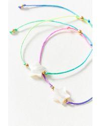 brand Venessa Arizaga - Venessa Arizaga Twin Stars Bracelet Set - Lyst