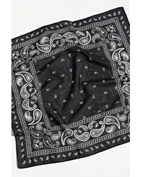 Urban Outfitters Paisley Bandana - Black