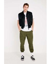 Urban Renewal Salvaged Deadstock Khaki Cargo Trousers - Green