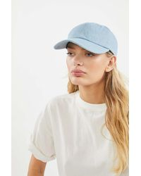 Urban Renewal Vintage Denim Baseball Hat - Blue