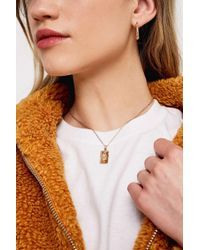 Urban Outfitters - Snake Gold-tone Pendant Necklace - Womens All - Lyst