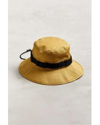 c1a3e4bec2c4d Urban Outfitters - Boonie Drawstring Bucket Hat - Lyst