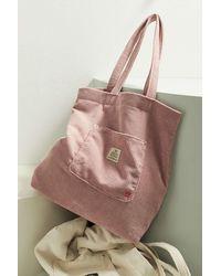 BDG Classic Corduroy Tote Bag - Purple