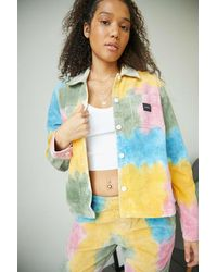 Obey Splash Tie-dye Jacket - Multicolour