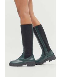 Urban Outfitters Uo Becky Tall Boot - Green