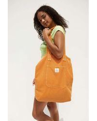 Urban Outfitters Uo Corduroy Pocket Tote Bag - Orange