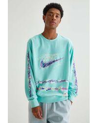 Nike Club Stories Crew Neck Sweatshirt - Green