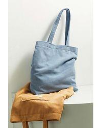 BDG Classic Corduroy Tote Bag - Blue