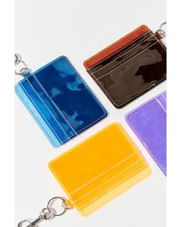 Urban Outfitters Clear Card Case Keychain