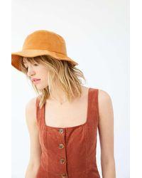 Urban Outfitters Uo Little Bit Of Fuzzy Bucket Hat - Multicolour