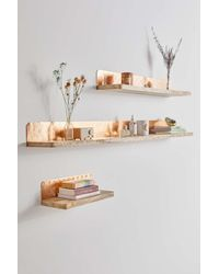 Urban Outfitters Joanna Pressed Metal Wall Shelf - Multicolor