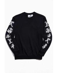 adidas X Disney Goofy Crew Neck Sweatshirt - Black