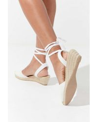 Urban Outfitters Uo June Mini Espadrille Wedge - Multicolor