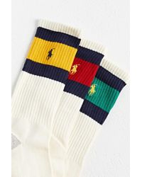 Polo Ralph Lauren Vintage Stripe Crew Sock - Multicolour