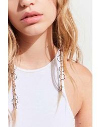 Urban Outfitters - Rainbow Braid Ring Set - Lyst