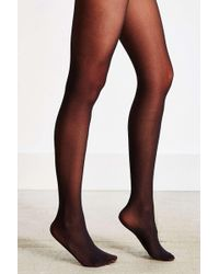 Urban Outfitters 80d Opaque Tights - Black